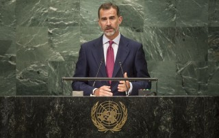 Spain H.E. Mr. Don Felipe VI King  General Assembly Seventy-first session: Opening of the General Debate 71 United Nations, New York
