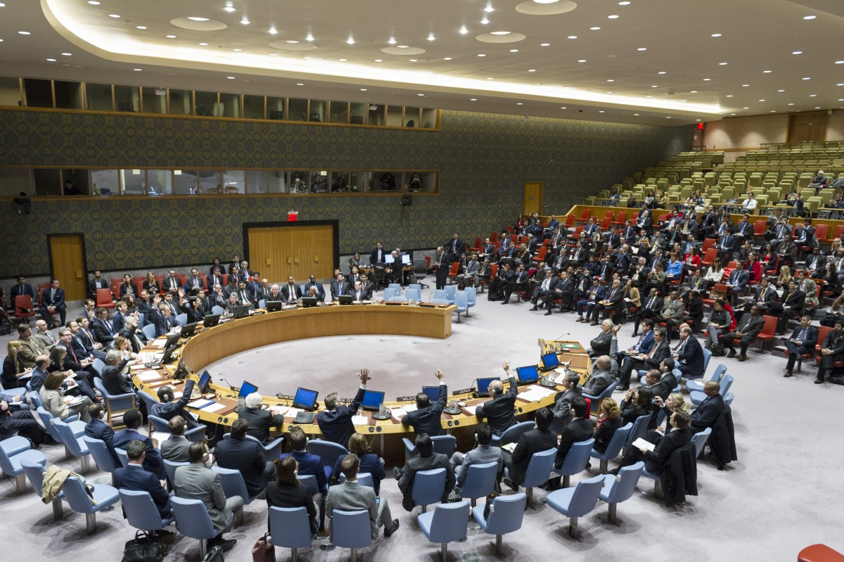 Vote FOR Security Council meeting on the situation in the Middle East (SYRIA)