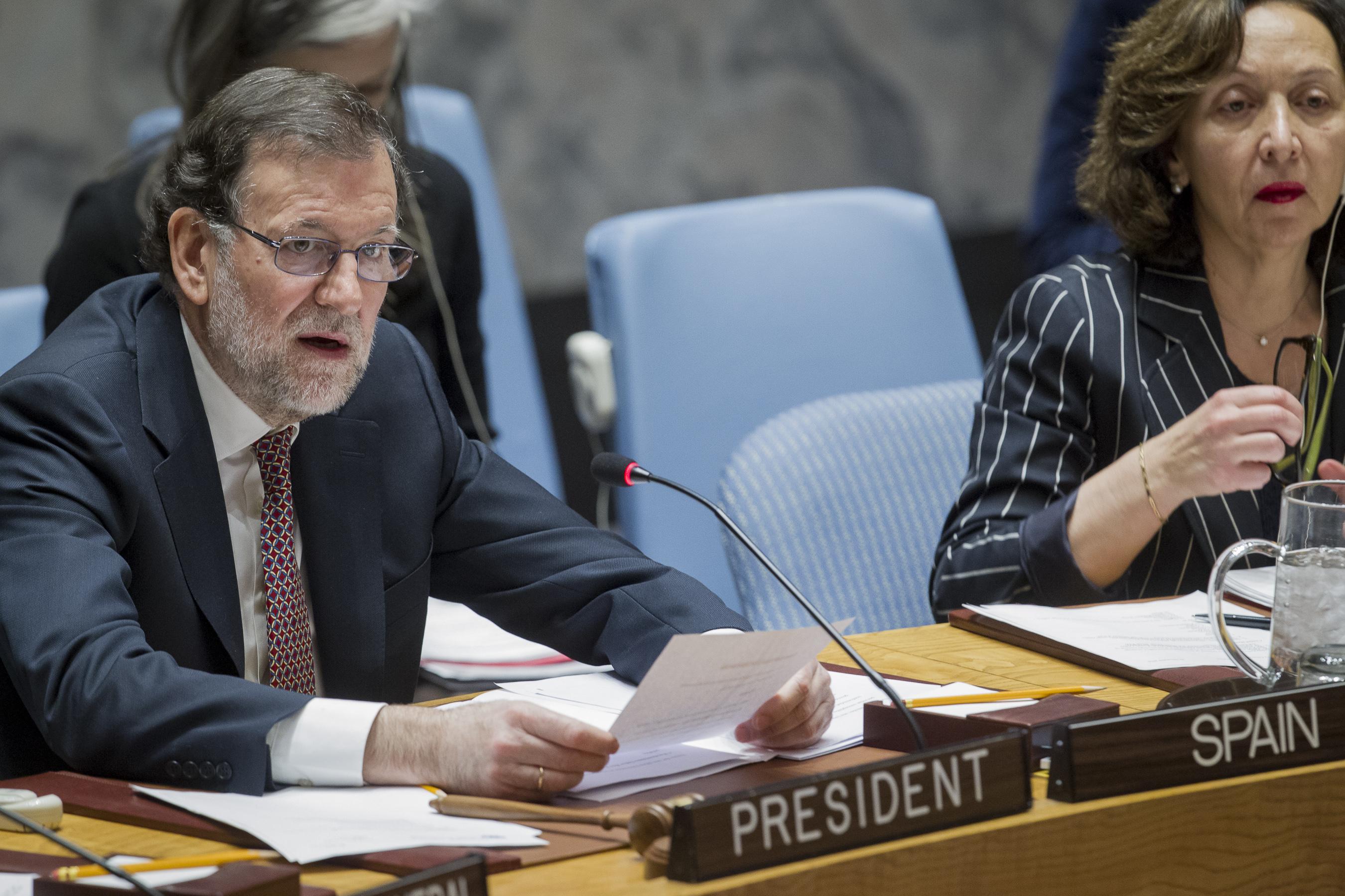 Intervención del presidente del Gobierno en el debate en el Consejo de Seguridad