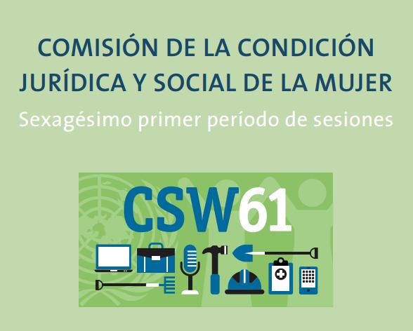 La Comisión de la Condición Jurídica y Social de la Mujer se celebrará del 13 al 24 de marzo en Nueva York