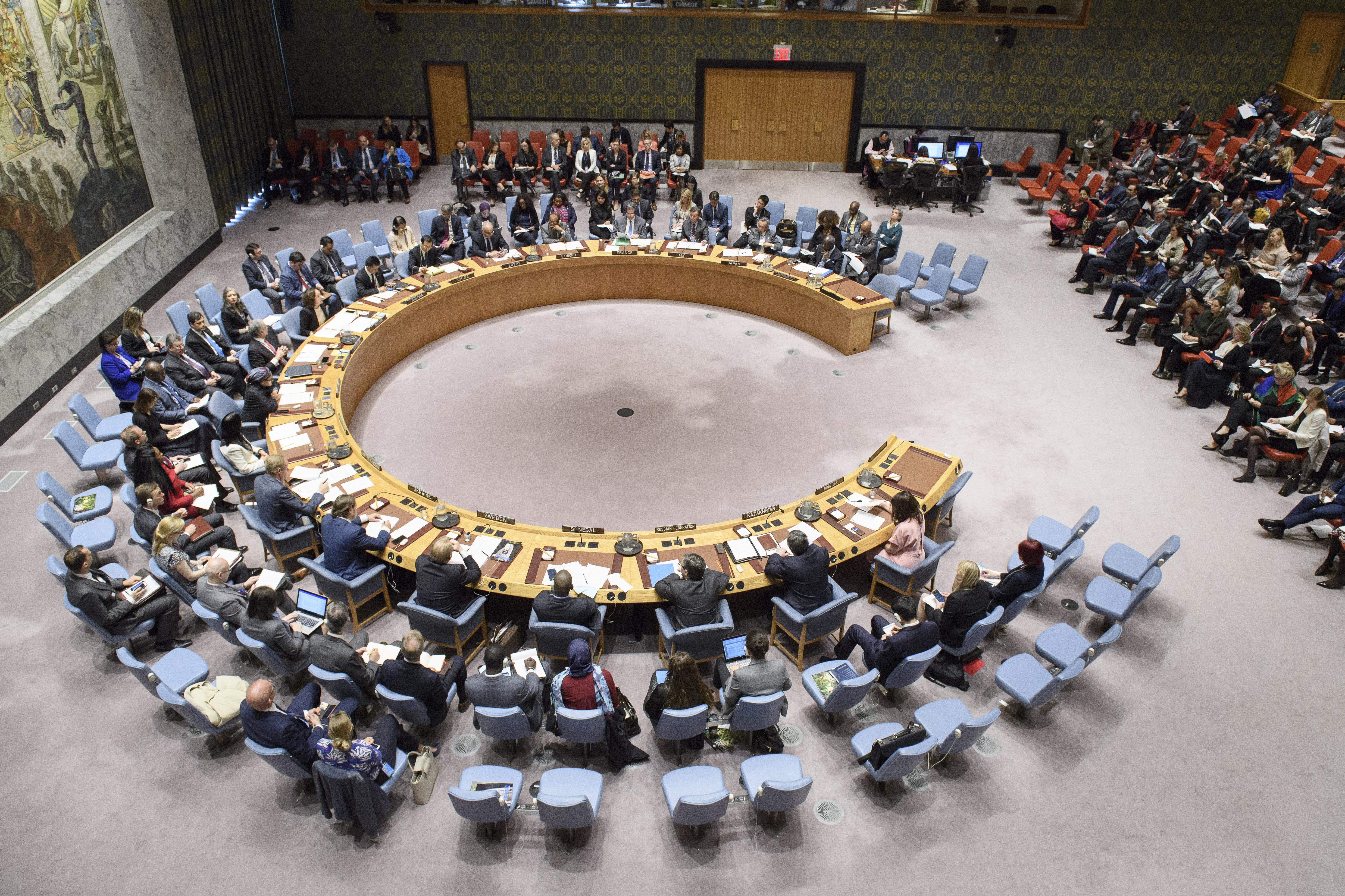 Intervención del Director General NNUU y DDHH en el debate del Consejo de Seguridad