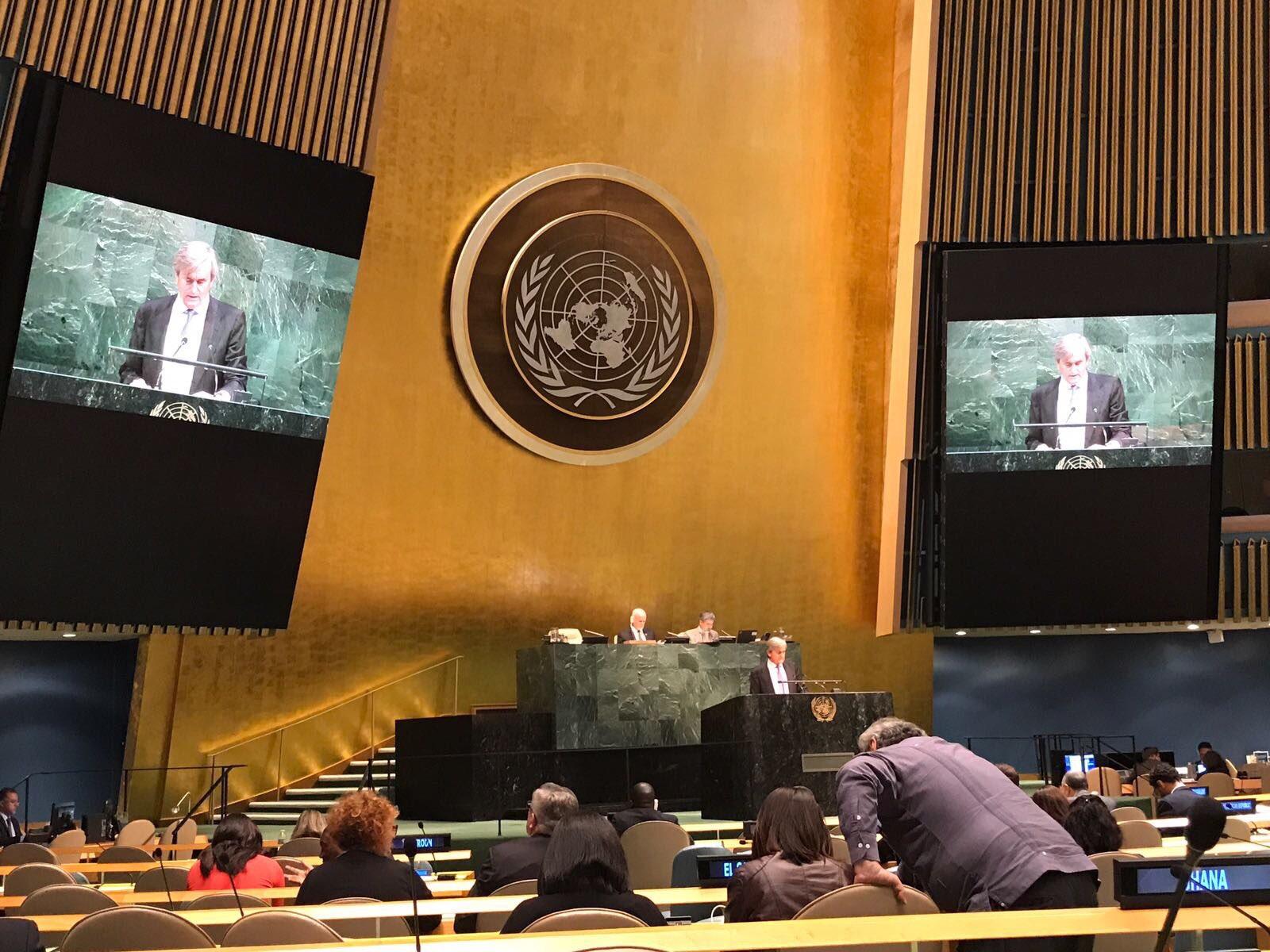 La Asamblea General aprueba una resolución liderada por España sobre trata de personas