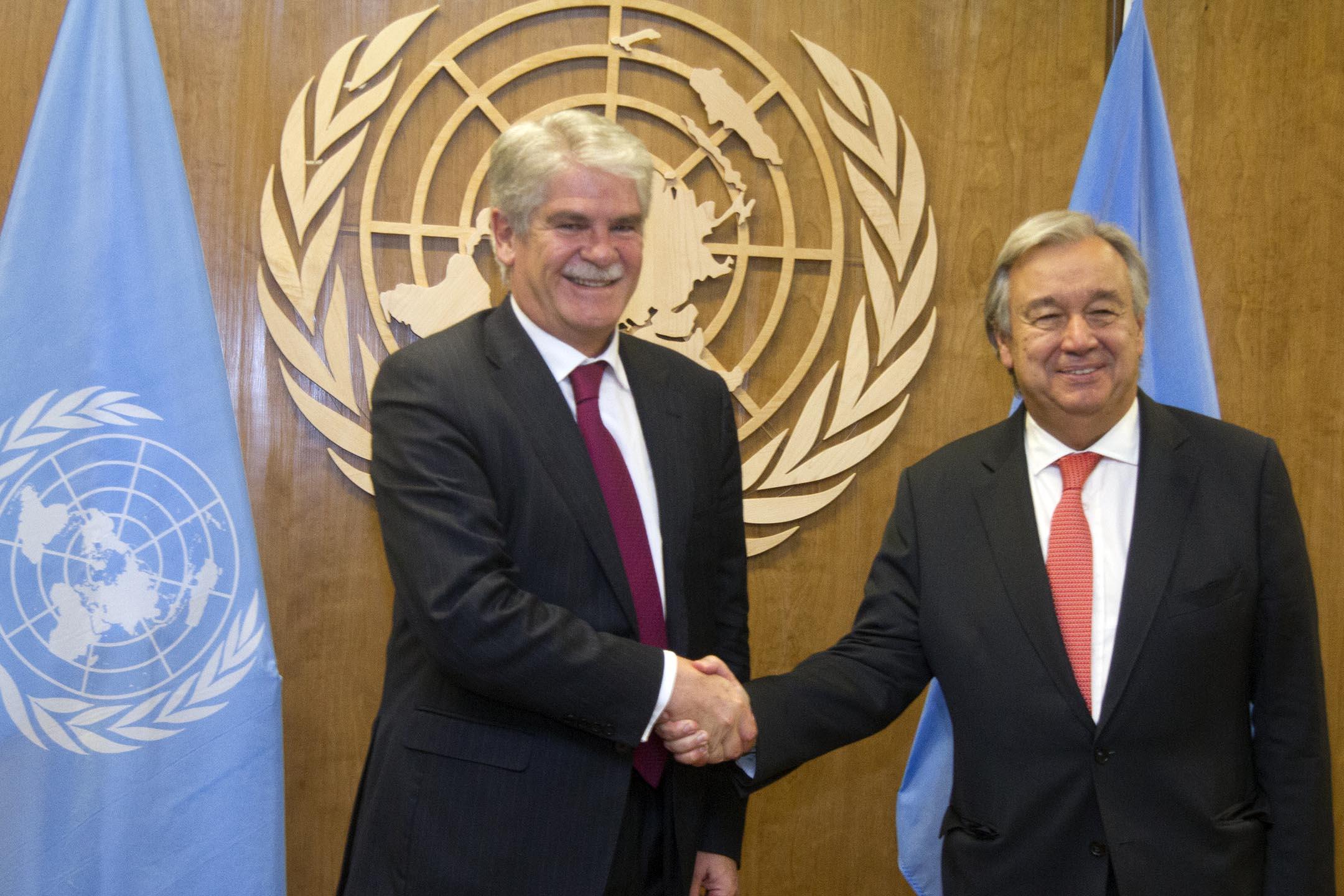 Fotogalería de la delegación española durante la Semana Ministerial de ONU