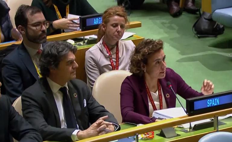 La ministra de Sanidad, Servicios Sociales e Igualdad interviene en el debate general de la 62ª CSW